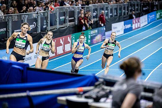 31 INDOOR MEETING Karlsruhe - Bei der 36. Auflage des INDOOR MEETING Karlsruhe wurde wieder Leichtathletik der Spitzenklasse geboten. (60 Fotos)