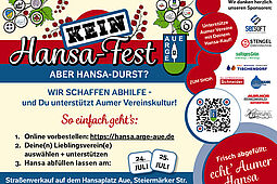 KEIN Hansa-Fest aber Hansa-Durst?. Grafik: pm