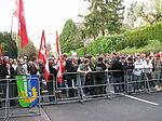 Demo gegen das geplante NPD-Zentrum am 25. April 2008.