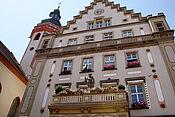 Rathaus Durlach (Außenansicht). Foto: cg