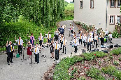 Musikverein Frohsinn Wöschbach. Foto: pm