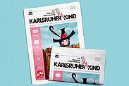 Karlsruher Kind: Ausgabe Novmeber 2020. Grafik: pm