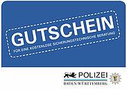 """Jetzt kostenlos zum Thema """"Einbruchschutz"""" beraten lassen. Grafik: pol"""