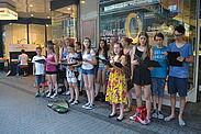 """Die Durlacher Jugendkantorei sang für """"Durlach hilft"""". Foto: pm"""