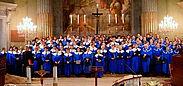 """Kirchenchor der Kathedrale von Vác """"Heilige Cecilia"""". Foto: pm"""