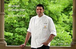 Michael Grünbacher (Küchenchef) sorgt für kulinarische Köstlichkeiten bei Live am Turm