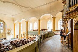 Orgelkonzert in der ev. Stadtkirche Durlach. Foto: cg