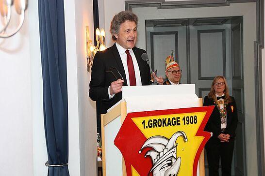 03 Ordensmatinee 111 Jahre GroKaGe - Sonst zusammen mit dem Elferrat Lyra, feierte die GroKaGe dieses Jahr aufgrund ihres Jubiläums alleine in der Karsburg. (64 Fotos)