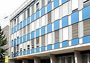 Das P90 in der Pfinztalstraße wird seit 2005 als Gründerzentrum genutzt. Foto: cg