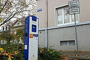Ladesäule in der Gritznerstraße. Foto: cg