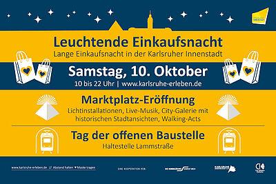 Karlsruher Marktplatz wird am 10. Oktober offiziell eröffnet. Grafik: pm
