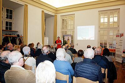 """Forumsabend """"Immobilien und Erbrecht"""" in der Karlsburg. Foto: pm"""