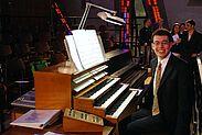 Shootingstar der amerikanischen Orgelszene in der Reihe Meister der Orgel. Foto: pm