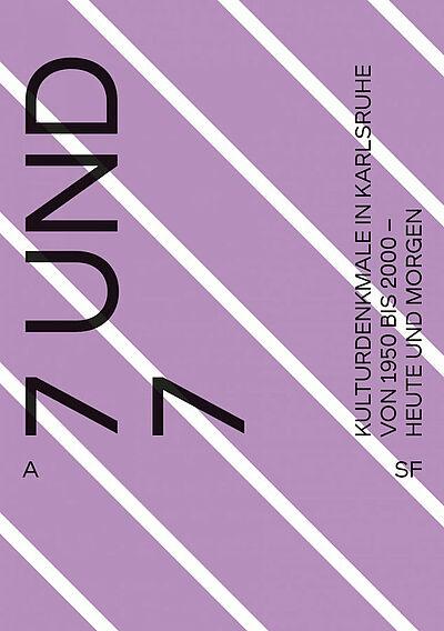7 und 7 - Ausstellungsplakat. Grafik: pm