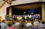 Der Gritzner-Chor zusammen mit den Grötz-Singerle