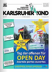 Karlsruher Kind: Ausgabe März 2020. Grafik: pm