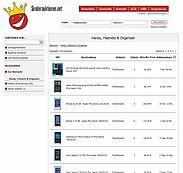 Fundsachen online ersteigern. Screenshot: www.sonderauktionen.net
