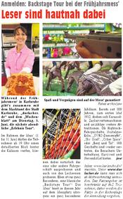 Wochenblatt - Das Journal für die Region | 23. Mai 2012