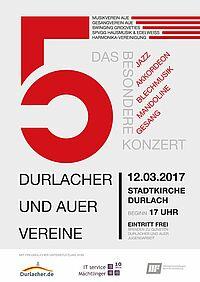 Das besondere Konzert: 5 Durlacher und Auer Vereine