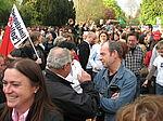Demo am 25. April 2008 (Foto: S. Marona)