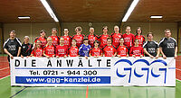 Handball-Damen der Turnerschaft Durlach.
