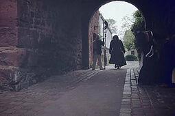 """Die Eröffnungsszene von """"Der Zirkel"""" wurde im Basler-Tor-Turm gedreht. Foto: pm"""