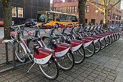 KVV.nextbike ist bis einschließlich Freitag, 25. Juni 2021, kostenlos im Karlsruher Stadtgebiet nutzbar. Foto: KVV