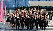 "Orchester ""DaCapo"" des Musikforums Durlach. Foto: cg"