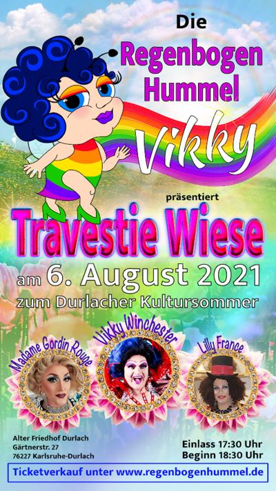 Karten gewinnen: Regenbogenhummel Vikky Winchester. Grafik: pm