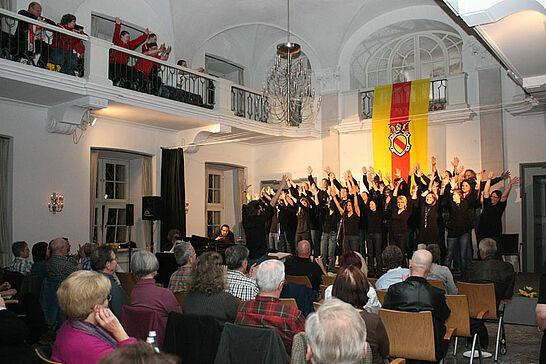 25 Meeting-Benefizkonzert - Das Meeting-Durlach veranstaltete in der Karlsburg sein 6. Benefizkonzert - dieses Mal zugunsten der Durlach Turnados. (49 Fotos)