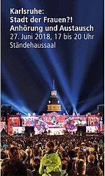 Ist Karlsruhe eine Stadt der Frauen? Grafik: Fränkle