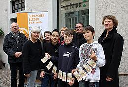 Die Schule am Turmberg erhielt die erste Ausschüttung der Bürgerstiftung. Foto: cg