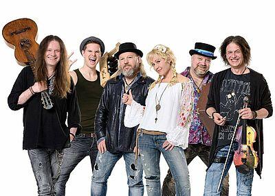 Karten gewinnen: Wendrsonn - Schwoba Folk Rock! Foto: pm