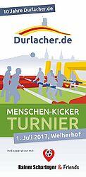 Menschen-Kicker-Turnier 2017 | Aktionsflyer