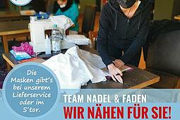 Team Nadel & Faden. Grafik: pm