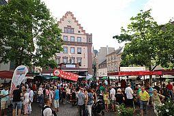 Es fehlt den Durlachern: Ihr Altstadtfest war immer als Sommer-Highlight gesetzt. Nun muss es zum zweiten Mal in Folge ausfallen. Foto: cg