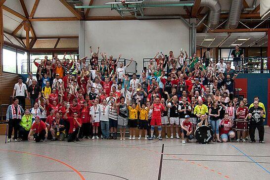 20-22 Heimspiel II - Das zweite integrative Handballturnier der Turnerschaft Durlach im Rahmen der Drei-Sterne-Erlebnistage bot über drei Tage hinweg wieder tollen Sport und Lebensfreude pur. (42 Fotos)