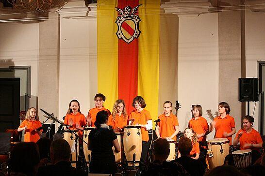 16 Benefizkonzert Meeting Durlach - Das Konzert zu Gunsten des Förderkreises Burkina Faso e.V. fand in Anwesenheit der Botschafterin in der Karlsburg statt. (27 Fotos)