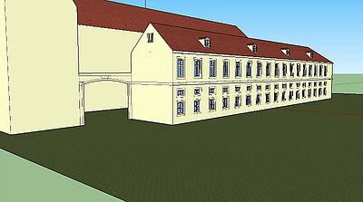 Rekonstruktionsentwurf von Stadtbild Deutschland e.V. – Mitglied Daniel Hoffmann. Grafiken: pm
