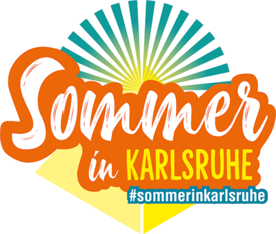 Sommer in Karlsruhe. Grafik: pm