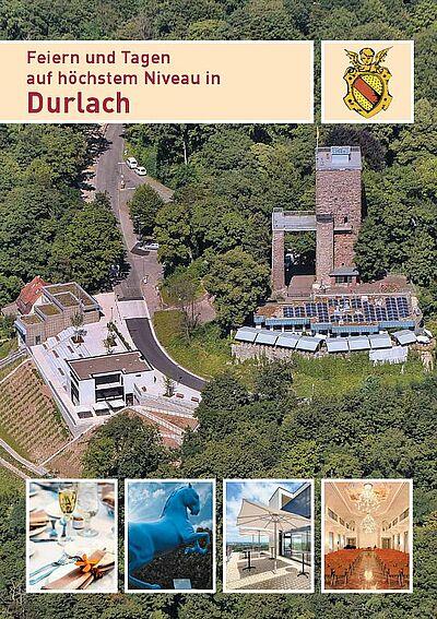 Feiern und Tagen auf höchstem Niveau in Durlach. Grafik: sta