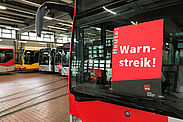 Busdepot der Verkehrsbetriebe Karlsruhe. Foto: Sarah Fricke/KVV
