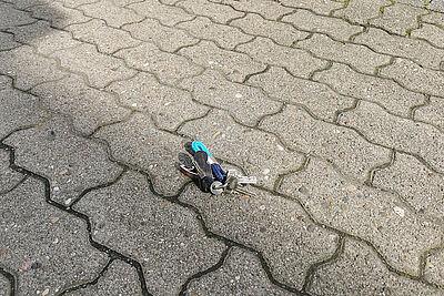 Schlüssel gehen verloren und werden gefunden. Foto: om