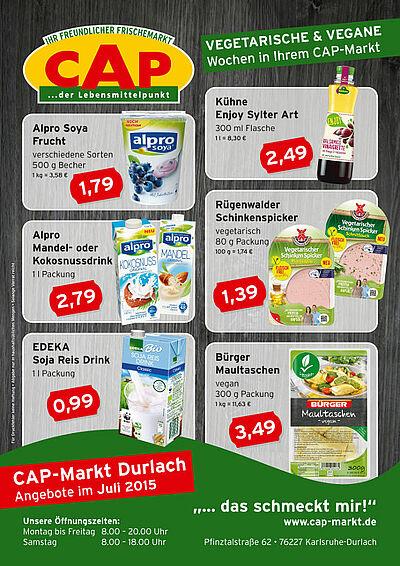 CAP-Markt: Angebote im Juli 2015