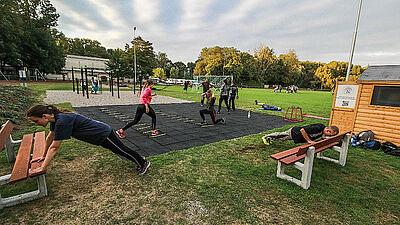 Outdoor-Sport: Angebote auch für junge Menschen. Foto: psv