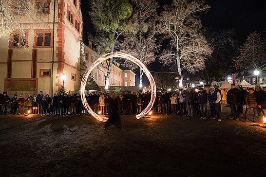 28 Mittelalterlicher Weihnachtsmarkt (Eröffnung & Feuershow) - Bereits am Dienstag wurde der Mittelalterliche Weihnachtsmarkt inoffiziell, am Mittwochabend dann offiziell eröffnet. (67 Fotos)