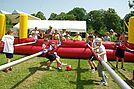Menschen-Kicker-Turnier. Foto: Johannes Liere