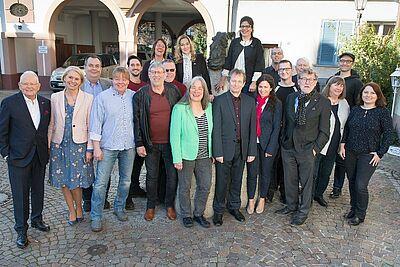 Kandidaten der SPD Durlach für die Kommunalwahl 2019. Foto: pm