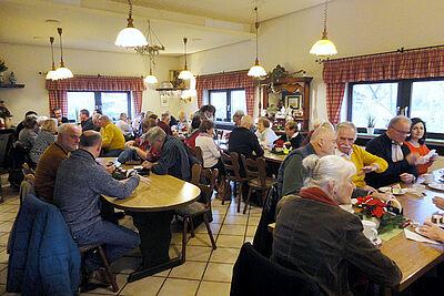Vorerst zum letzten Mal: Adventskaffee der Bürgergemeinschaft in der Mastweide. Foto: pm