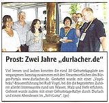 Wochenblatt - Ausgabe Durlach & Region | 01. juli 2009 (Teil 1)